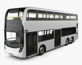 Alexander Dennis Enviro500 Double Decker Bus 2016 3D model