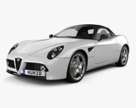 Alfa Romeo 8c Spider 2011 3D model