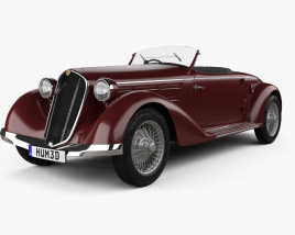Alfa Romeo 6C 2300 S Touring Pescara Spider 1935 3D model
