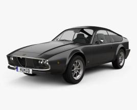 Alfa Romeo GT 1300 Junior Zagato 1972 3D model
