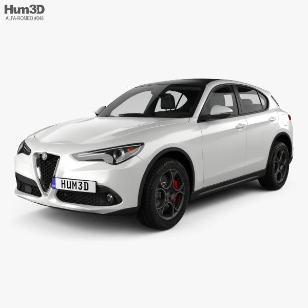 Alfa Romeo Stelvio Q D Model HumD - Alfa romeo model