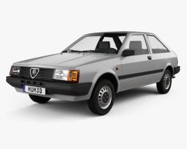 Alfa Romeo Arna L 1983 3D model