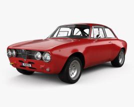 Alfa Romeo GTAm 1969 3D model