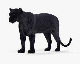 Black Panther HD 3D model
