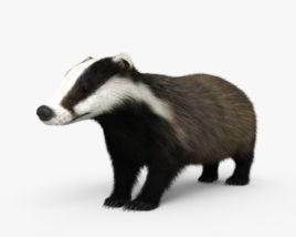 Badger HD 3D model