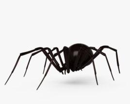 Black Widow Spider HD 3D model
