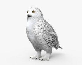 Snowy Owl HD 3D model