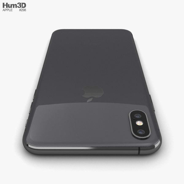 Apple iPhone XS Max Space Gray 3D model - Electronics on Hum3D 3fd881d4b1