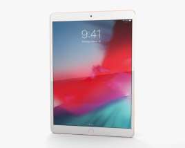 Apple iPad Air (2019) Gold 3D model
