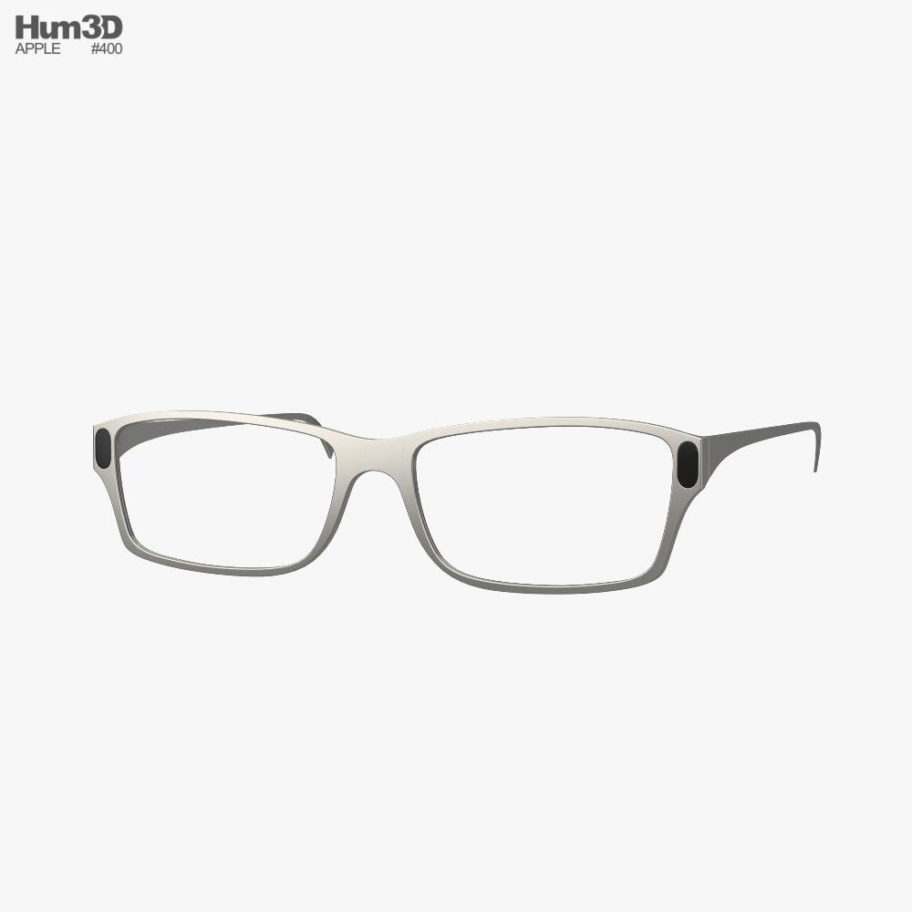 Apple Glass 3d model