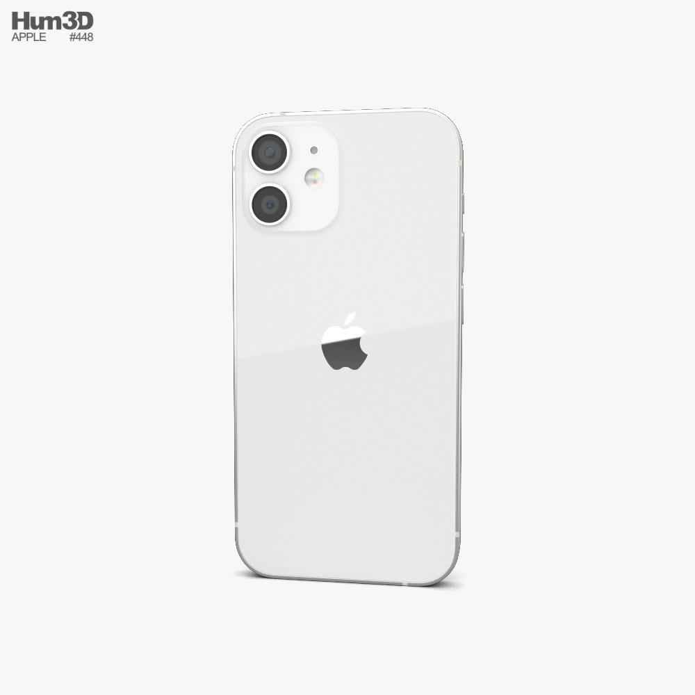 Apple iPhone 12 mini White 3d model