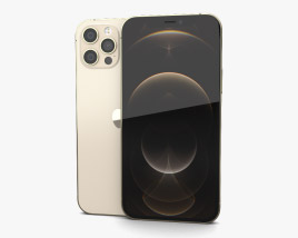 Apple iPhone 12 Pro Gold 3D model