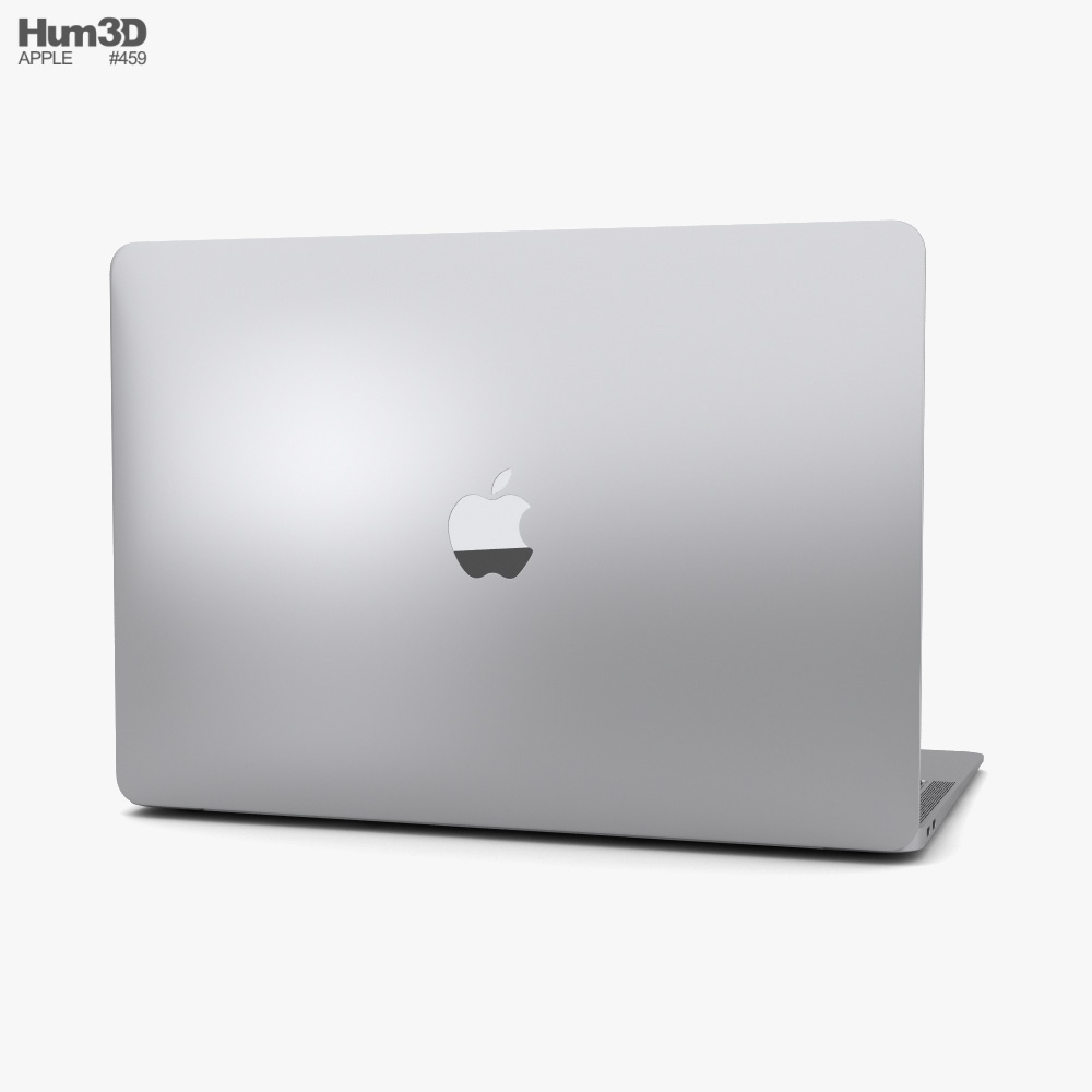 Apple MacBook Air 2020 M1 Silver 3d model