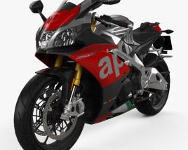 Aprilia RSV4 RF 2018 3D model