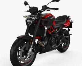 Aprilia Shiver 900 2020 3D model