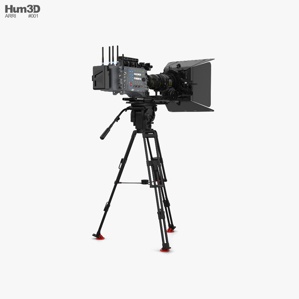 Arri ALEXA SXT Camera Set 3d model