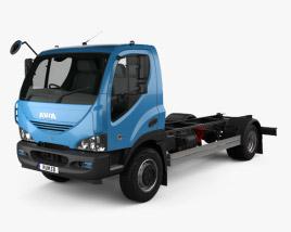 Ashok Leyland Avia D120 Chassis Truck 2006 3D model