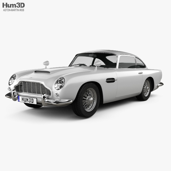 Aston Martin Models >> Aston Martin Db5 1963 3d Model