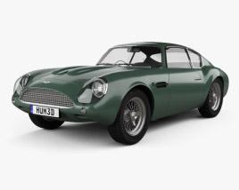 Aston Martin DB4 GT Zagato 1960 3D model