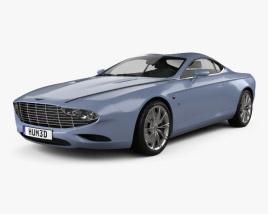 Aston Martin DB9 Coupe Zagato Centennial 2014 3D model