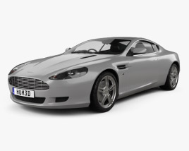 Aston Martin DB9 2004 3D model