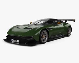 Aston Martin Vulcan 2015 3D model