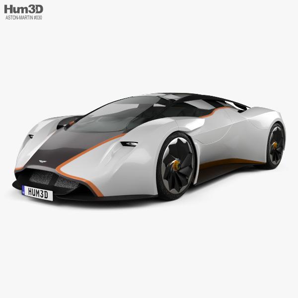 Aston Martin Concept: Aston Martin DP-100 Vision Gran Turismo 2014 3D Model