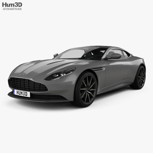 Aston Martin DB11 2017 3d Model ...