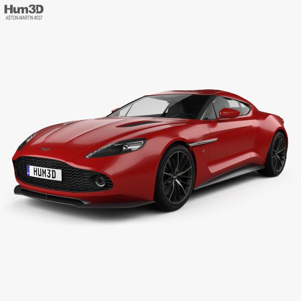 Aston Martin Vanquish Zagato 2016 3d Model Vehicles On Hum3d