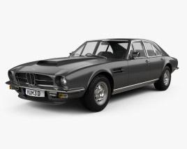 Aston Martin Lagonda V8 saloon 1974 3D model
