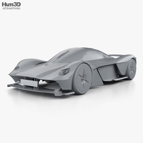 Aston Martin Valkyrie 2018 3d Model Vehicles On Hum3d