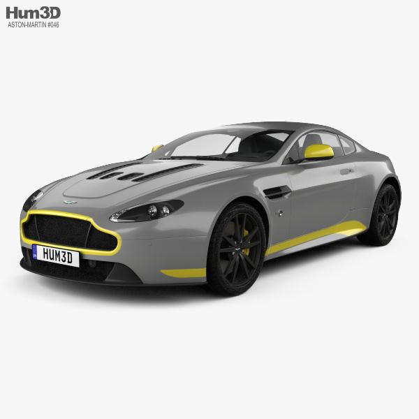 2016 Aston Martin Vanquish Camshaft: Aston Martin V12 Vantage S Sport-Plus 2016 3D Model