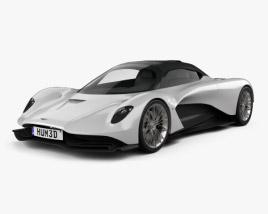 Aston Martin Valhalla 2020 3D model