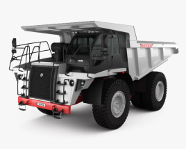 Astra RD50 Dump Truck 2010 3D model
