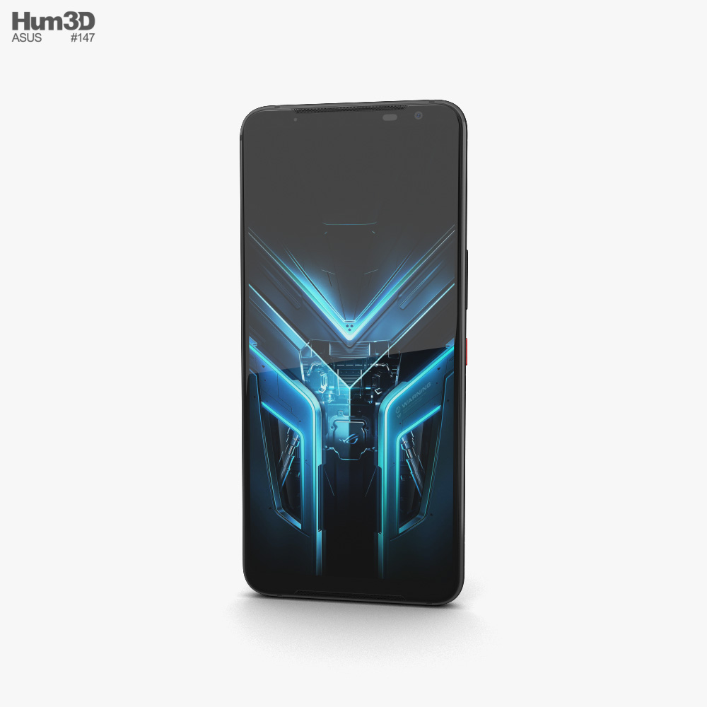 Asus ROG Phone 3 Black Glare 3d model