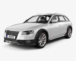 Audi A4 Allroad Quattro 2010 3D model