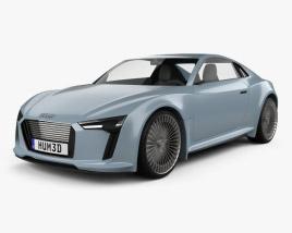 Audi e-tron 2010 3D model