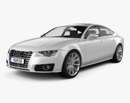 Audi A7 Sportback 2010 3D model