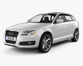 Audi A3 Sportback 2011 3D model