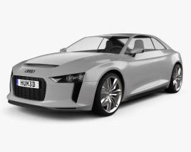 Audi Quattro 2012 3D model