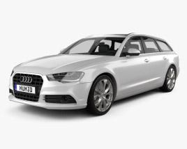 Audi A6 Avant 2012 3D model