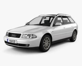 Audi A4 Avant 1999 3D model