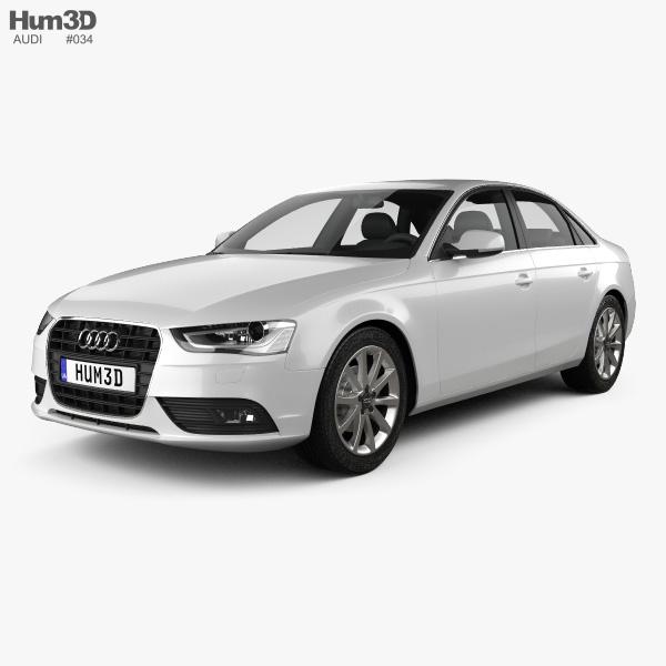 Audi A4 Sedan 2013 3D Model