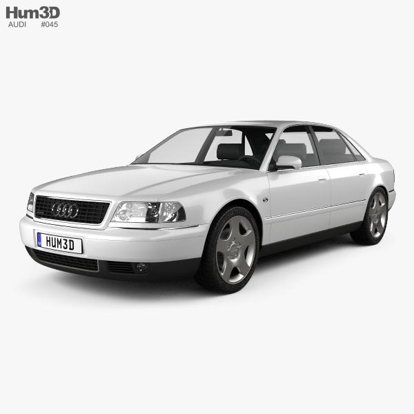 Audi A8 (D2) 1999 3D Model