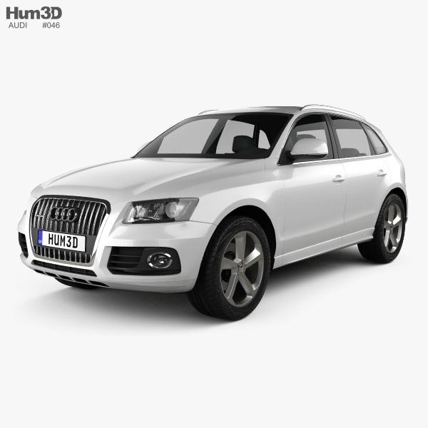 Q5 Price Audi: Audi Q5 2013 3D Model
