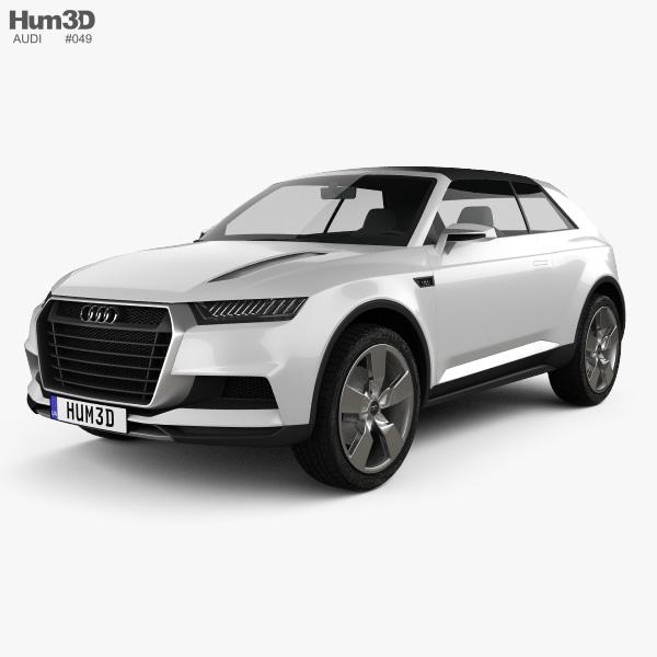 Audi Crosslane Coupe 2012 3d Model Hum3d