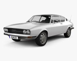 Audi 100 Coupe S 1970 3D model