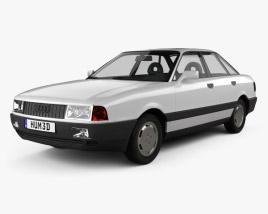Audi 80 (B3) 1986 3D model