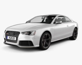 Audi RS5 coupe 2012 3D model