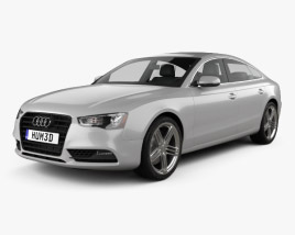 Audi A5 (8TA) sportback 2012 3D model